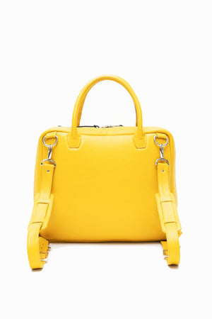 WEEKENDER TOTE BACKPACK (MUSTARD)