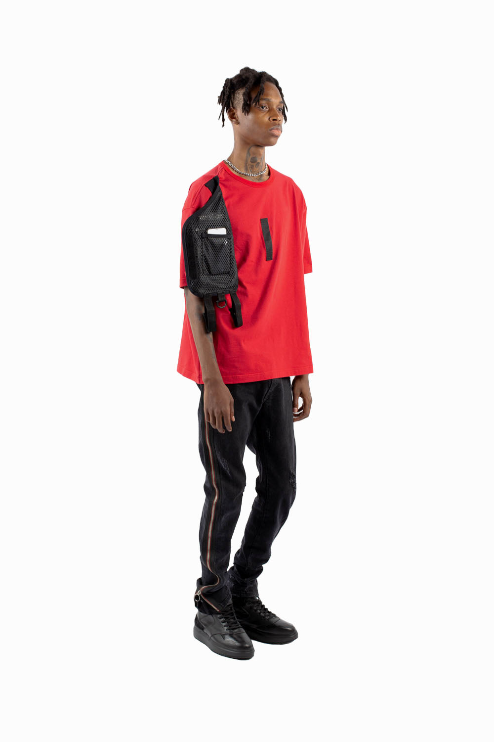 CARGO RIG TEE (RED)