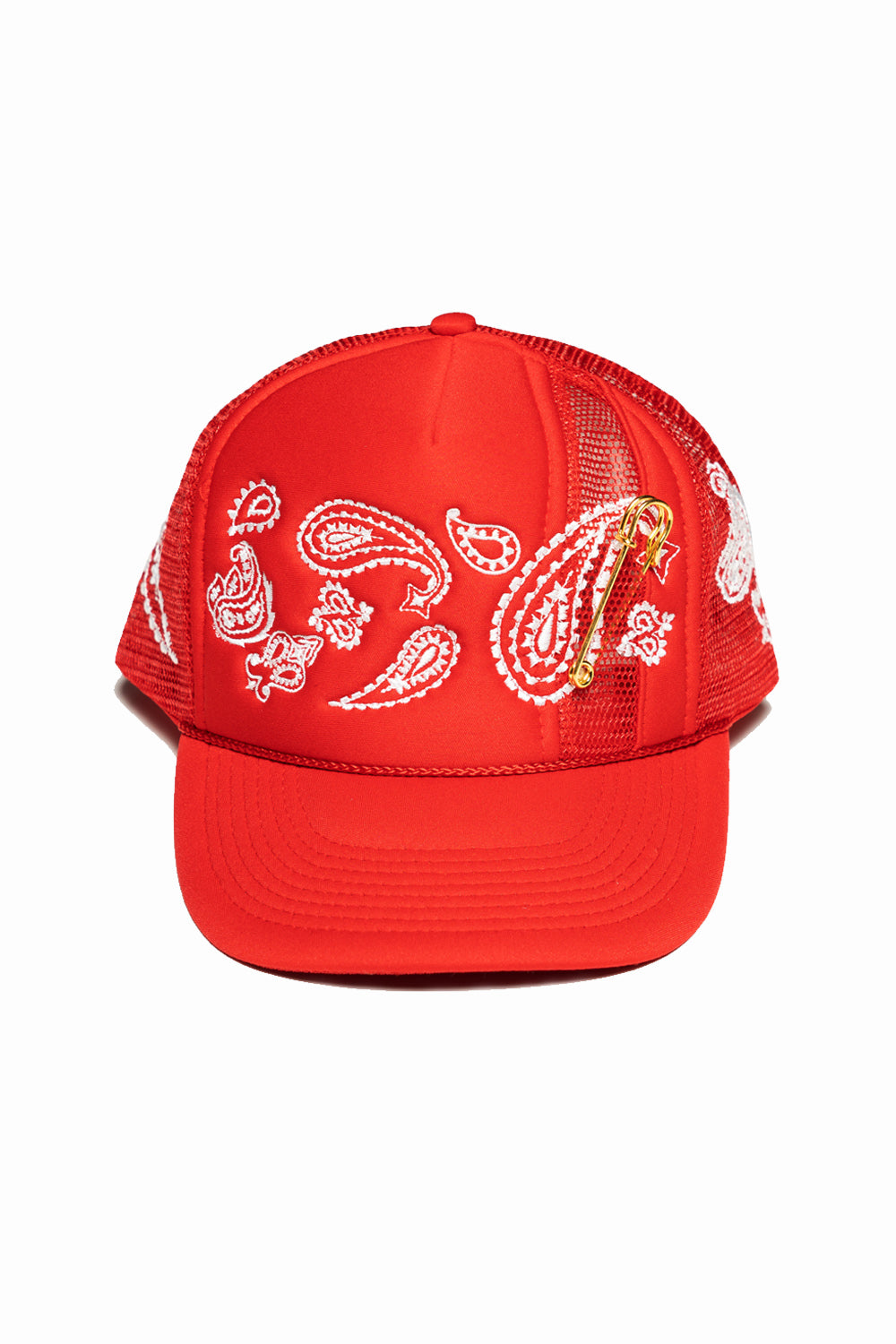 PAISLEY TRUCKER (RED)