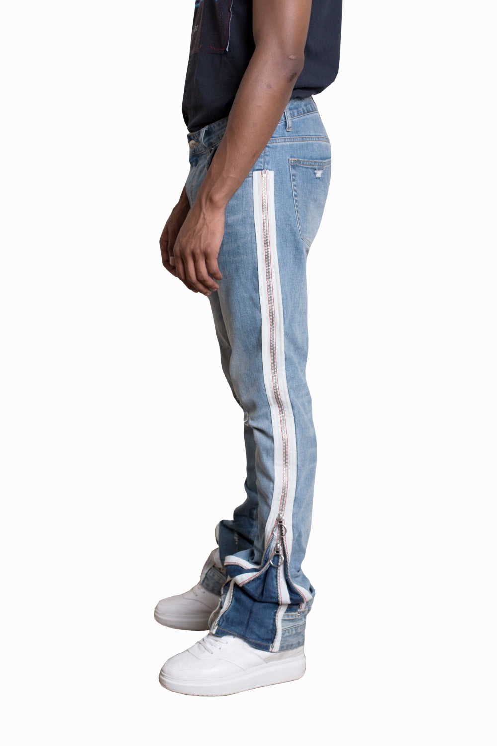 V2 Zippered Jeans