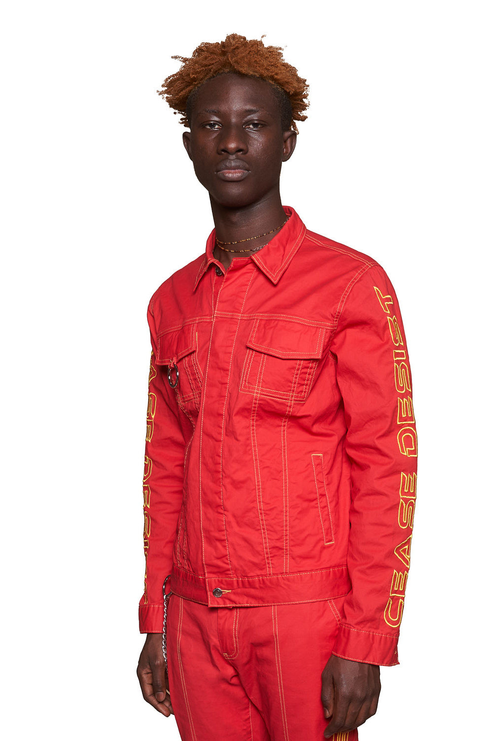 STRIKE JACKET (RED)