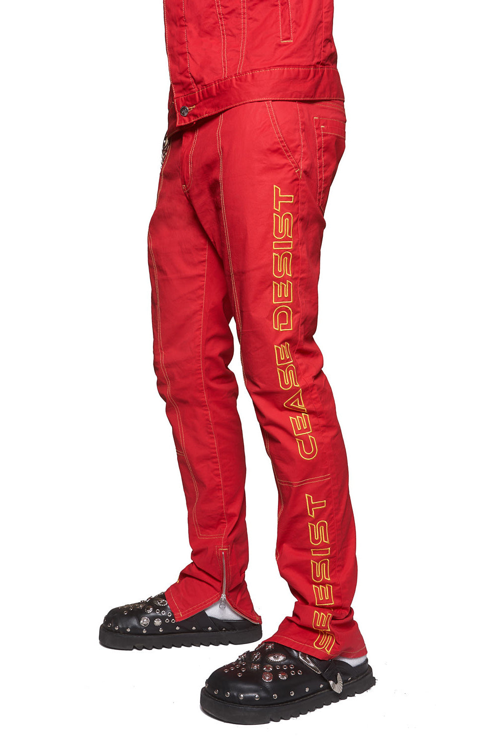STRIKE PANTS (RED)