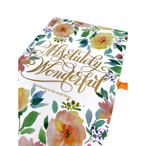 Absolutely Wonderful Hardcover Journal