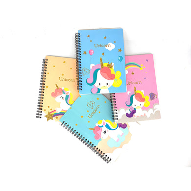 Baby Unicorn Spiral Notebook