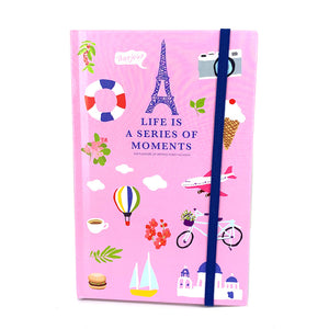 Moments Hardcover Notebook