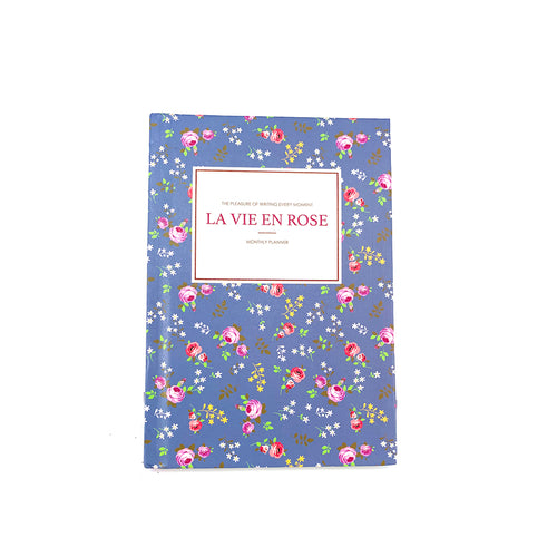 La Vie En Rose Hardcover Notebook