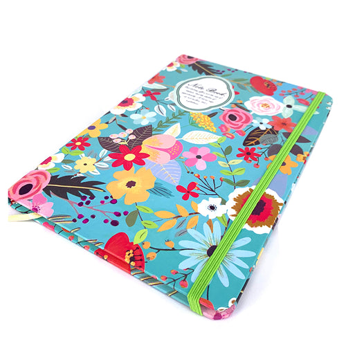 Floral Hardcover Notebook
