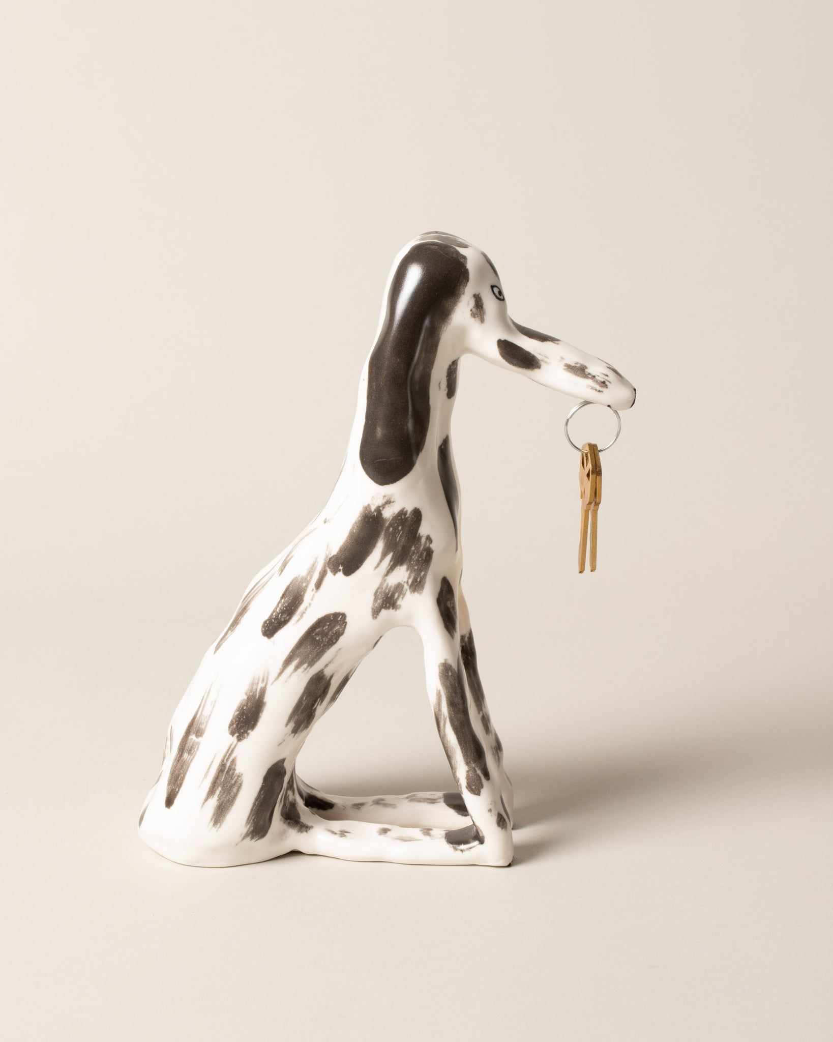 Side view of Eleonor Boström Key Dog