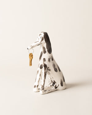 Front view of Eleonor Boström Key Dog
