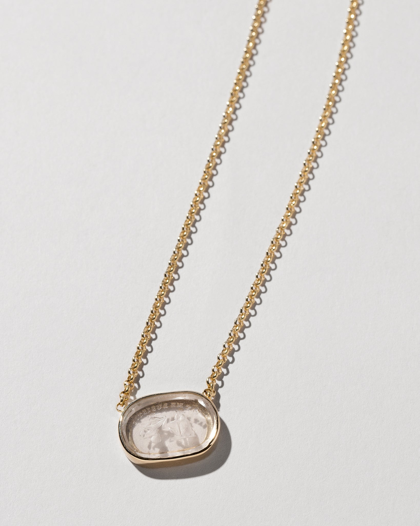 Independence Intaglio Seal Necklace