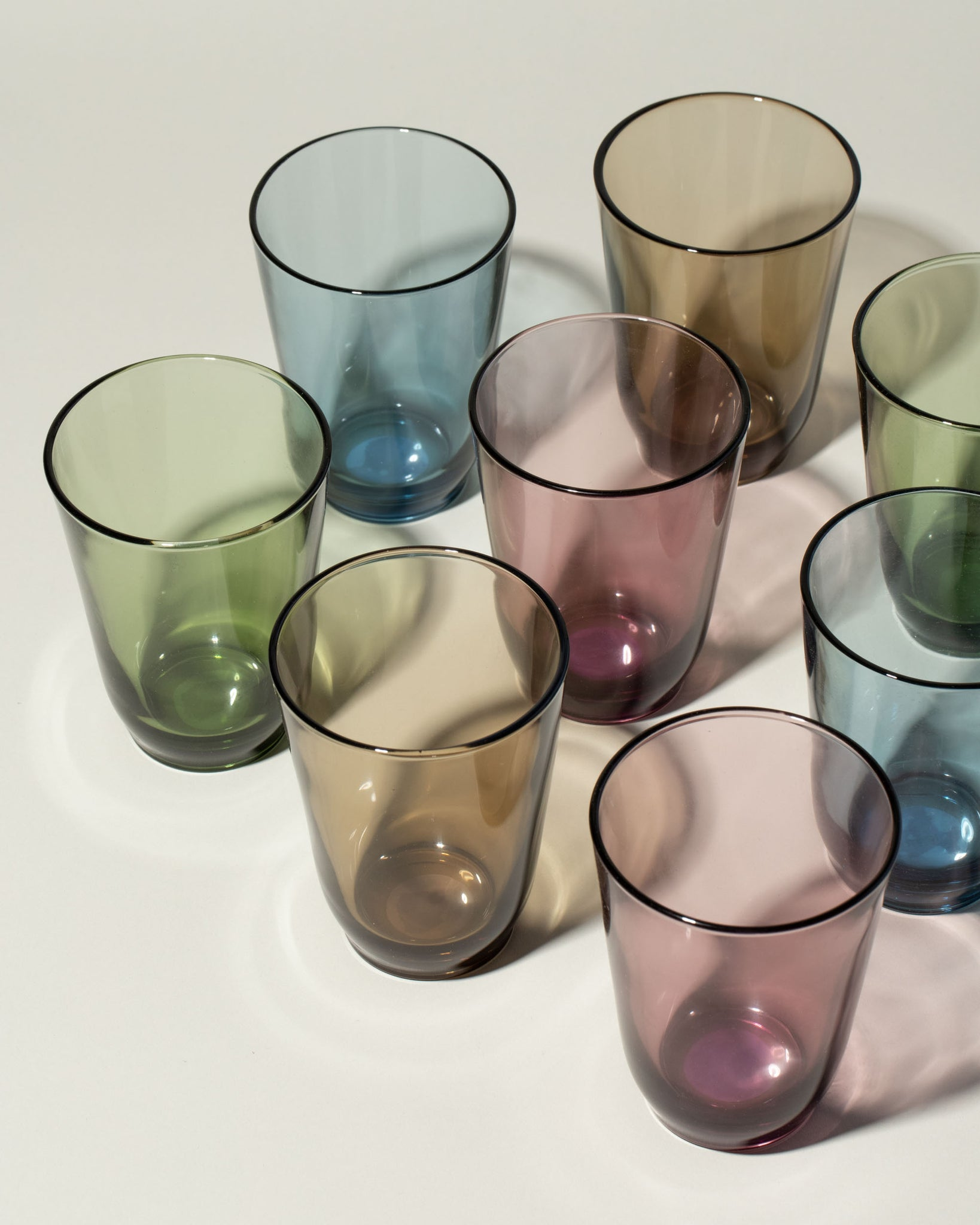 Hibi glasses group of mixed colors