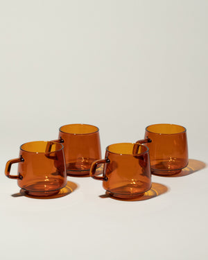 Kinto Sepia Glass Mug