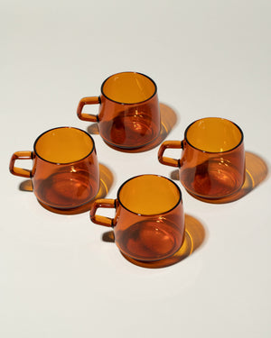 Sepia Glass Mug group photo