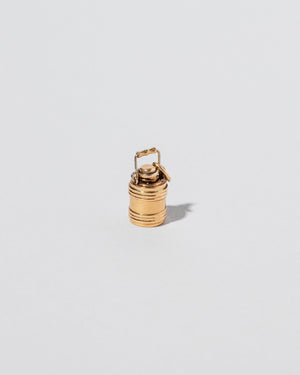 Barrel Charm on light color background
