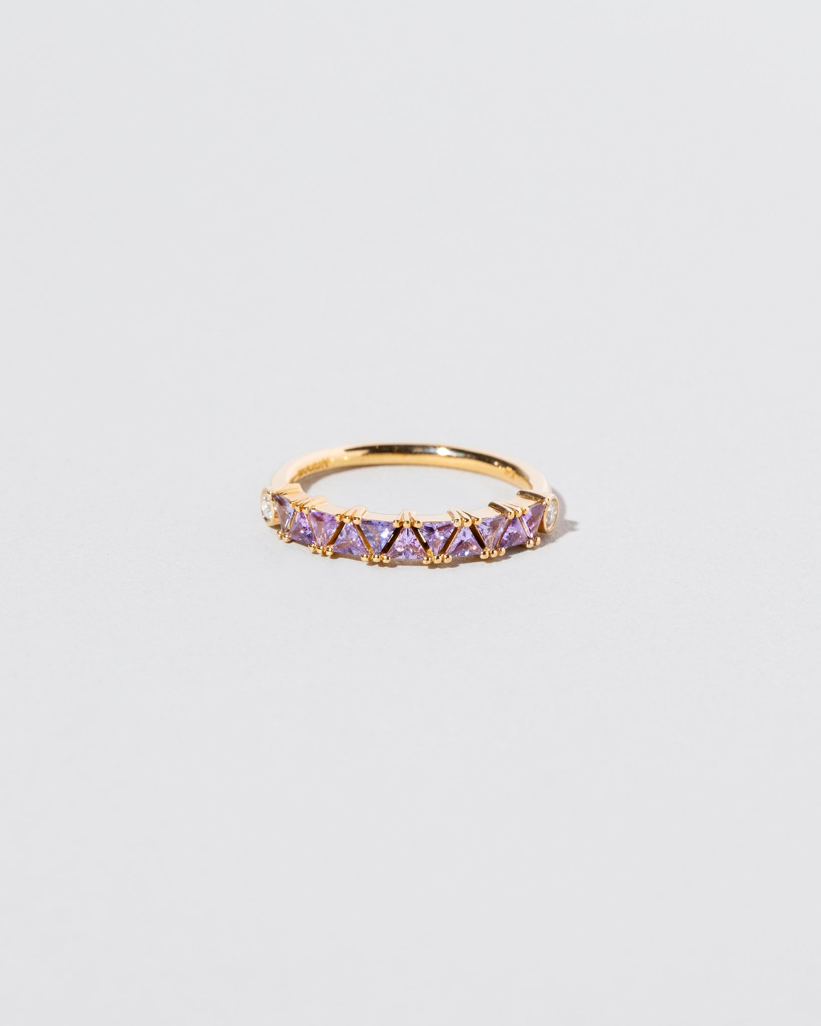 Eleven Trillion Ring - Lavender Sapphire on light color background