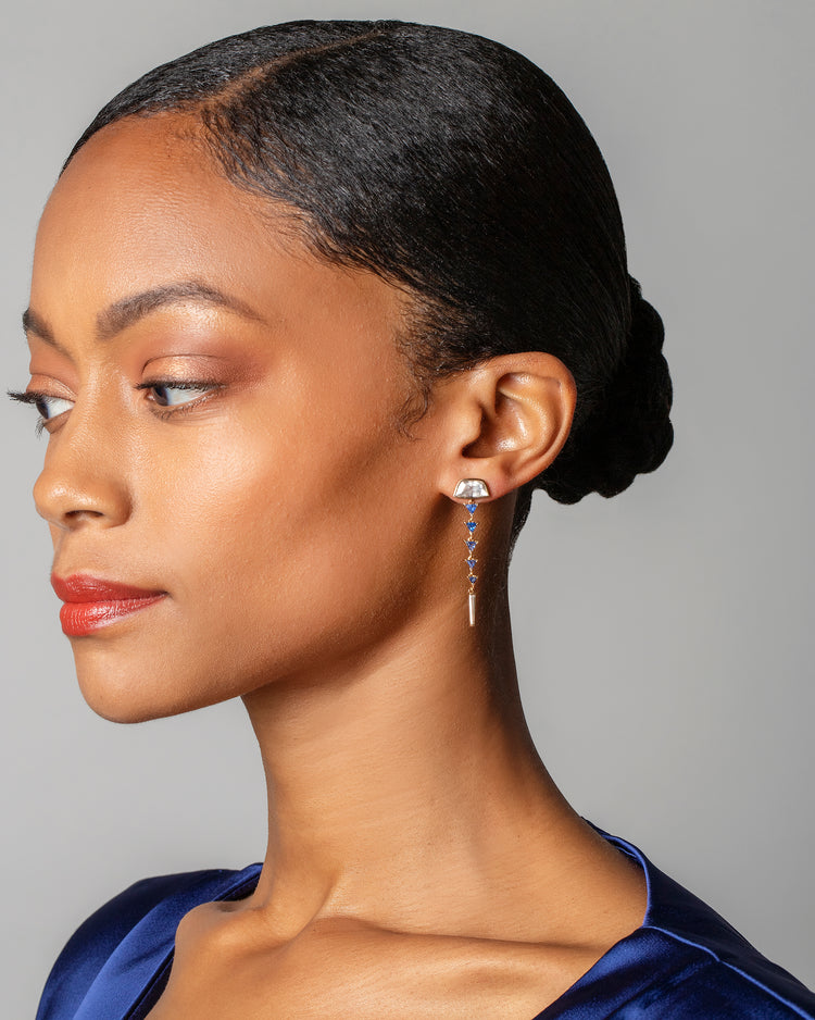 Abundance Earrings on model