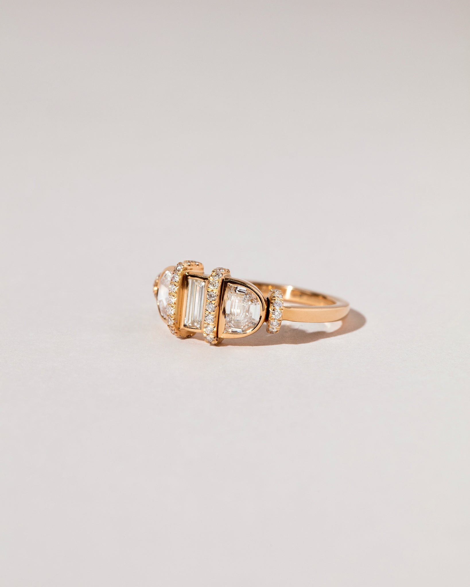 Abundance Ring side view