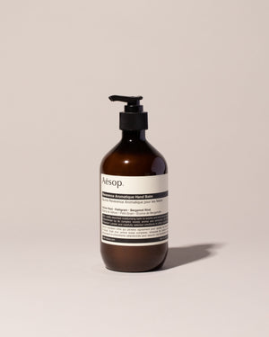 Aesop Reverence Hand Balm on light color background