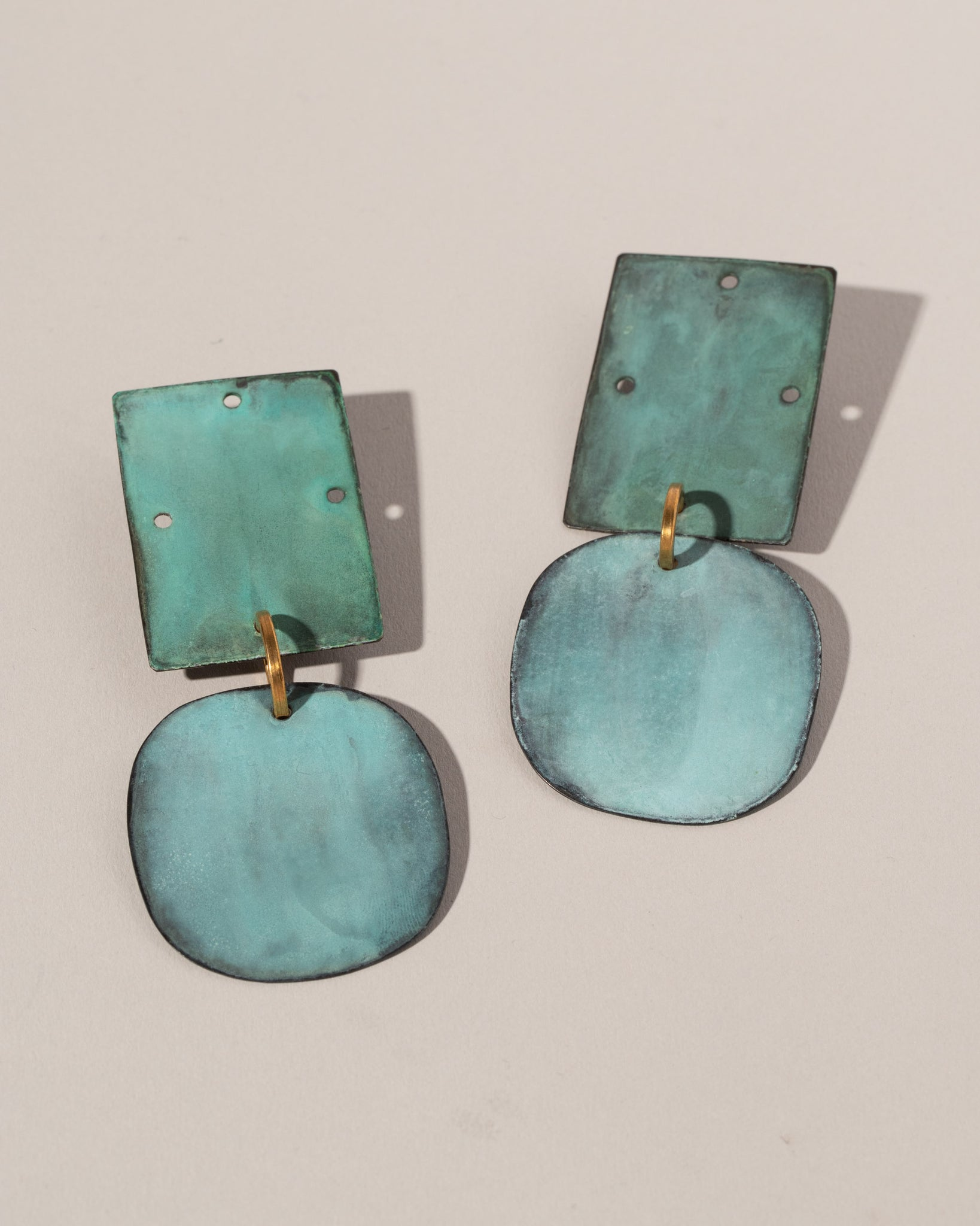 Annie Costello Brown Overt Earrings