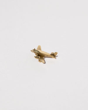 Side view of Airplane Charm