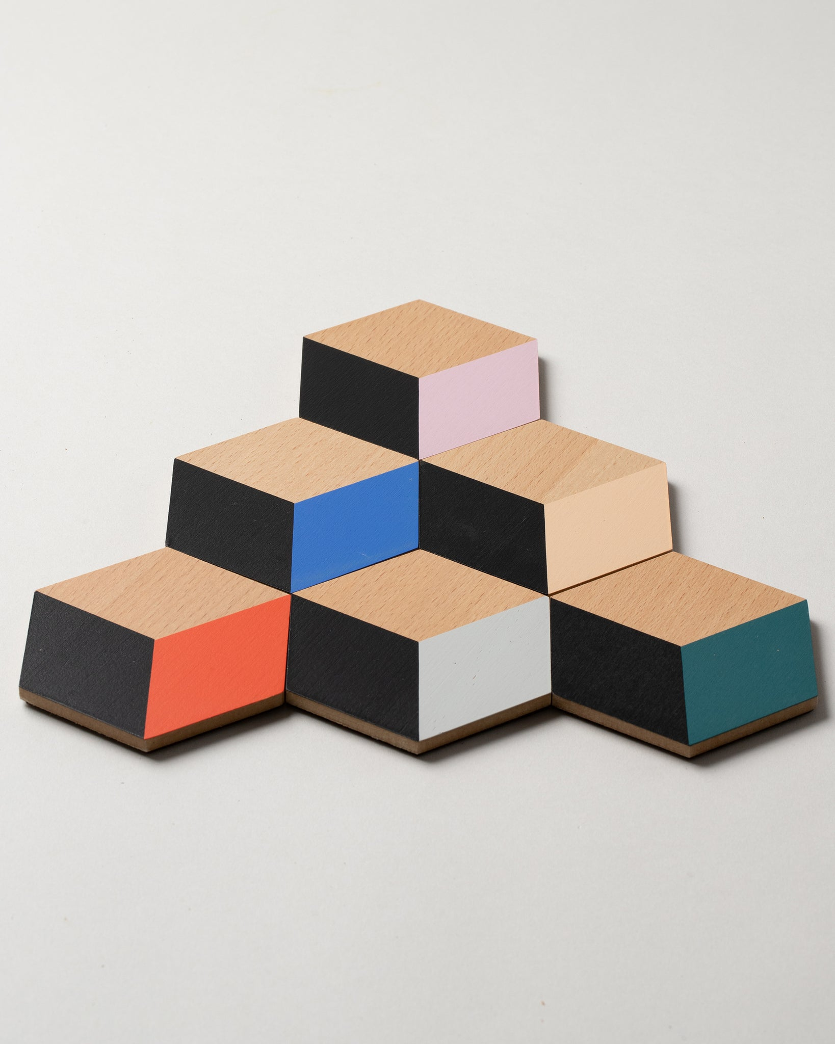 Table Tile Coasters in Modern Multi