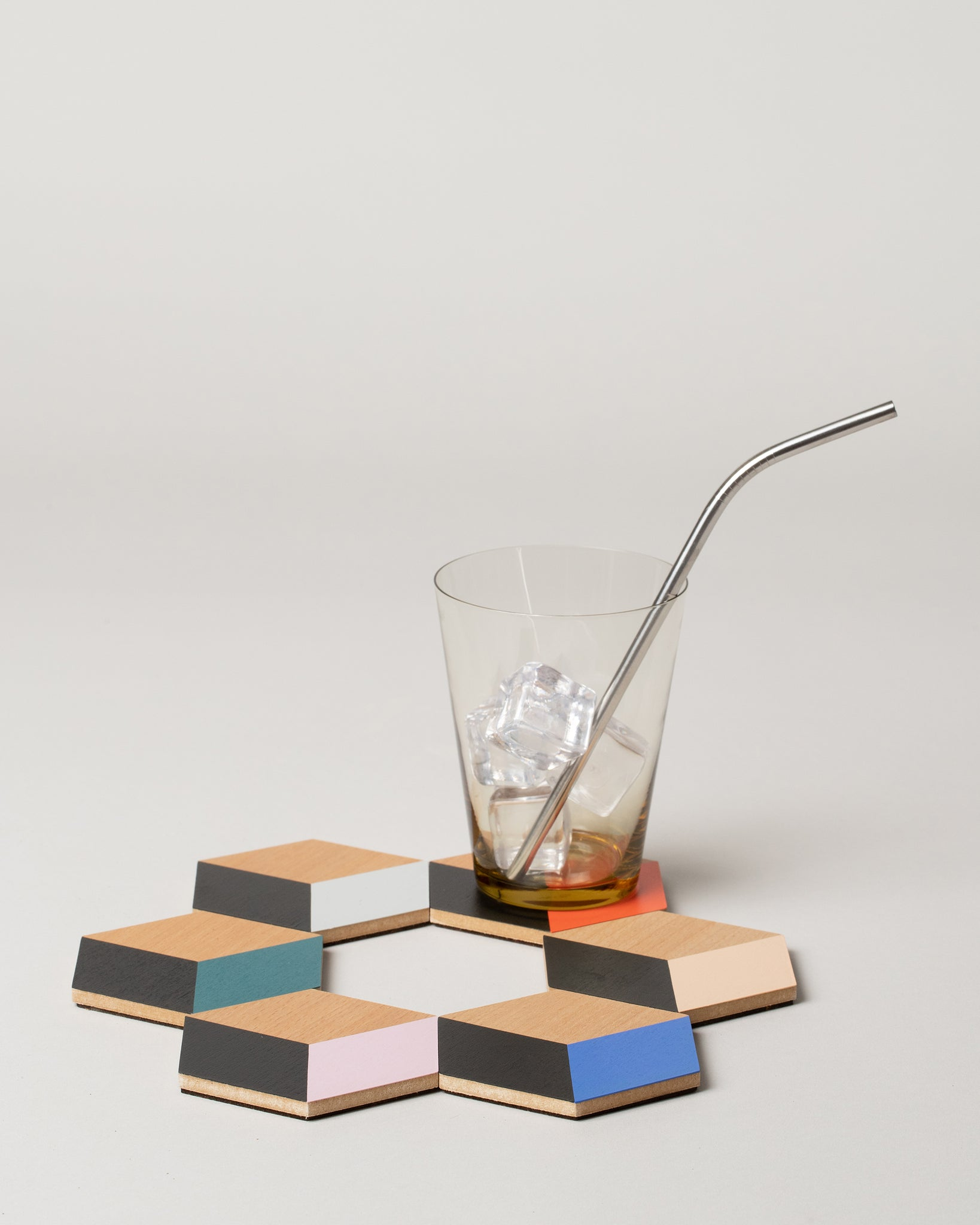 Table Tile Coasters in Modern Multi Styled