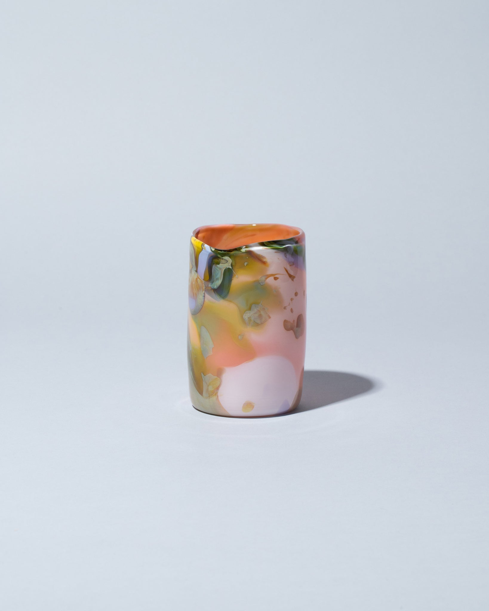 Epiphany Tumbler in Flamingo front view