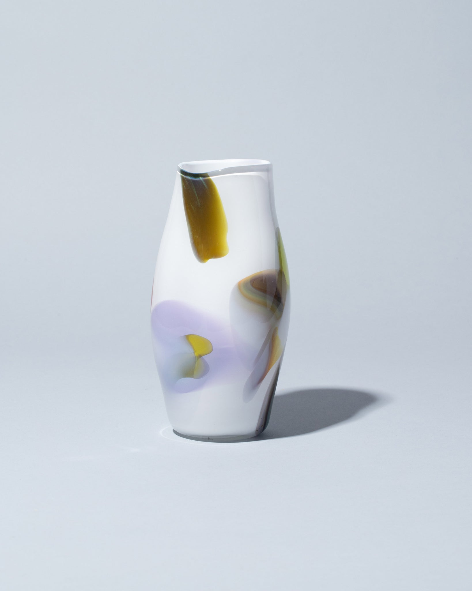 BaleFire Glass Epiphany Vase on light color background
