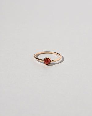 Birthstone Ring Garnet