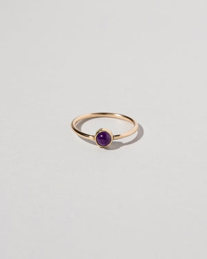 Birthstone Ring Amethyst