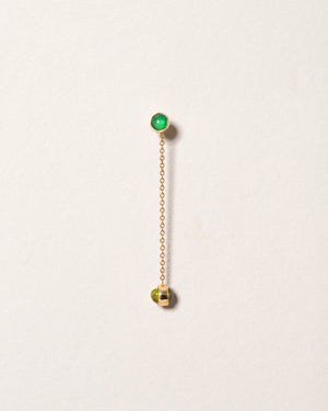 Birthstone One-Drop Single Earring