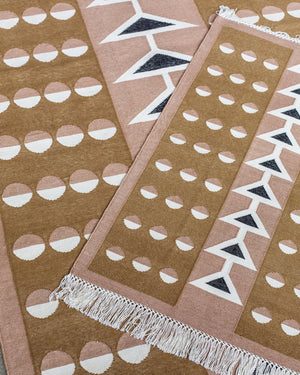 Block Shop Swallowtail Rug stacked