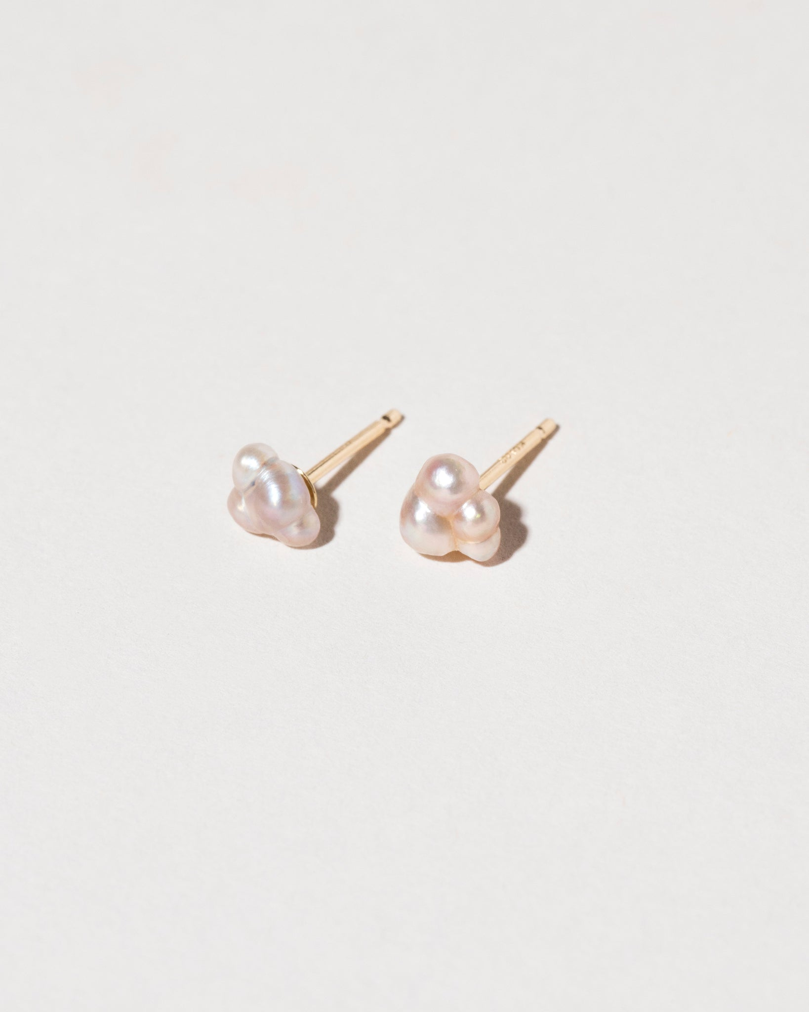 Pair of Bubble Pearl Stud Earrings