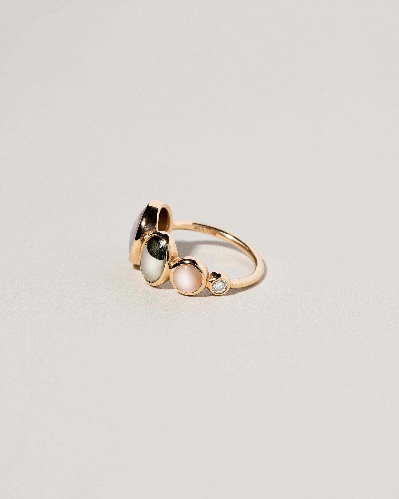 Bubble Line Ring