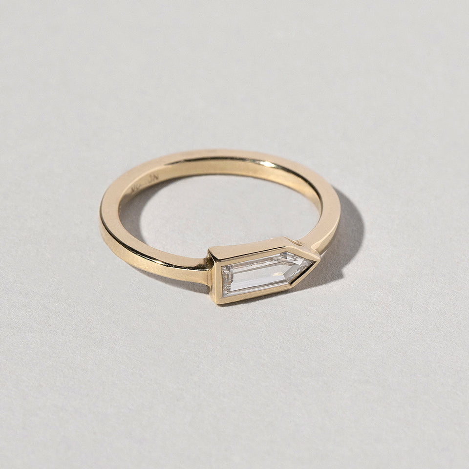 product_details::Bullet Cut Diamond Ring