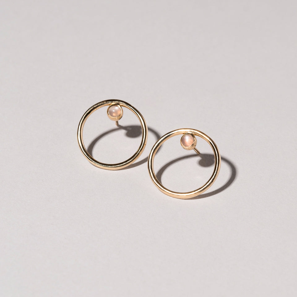 Coil Stud Earrings