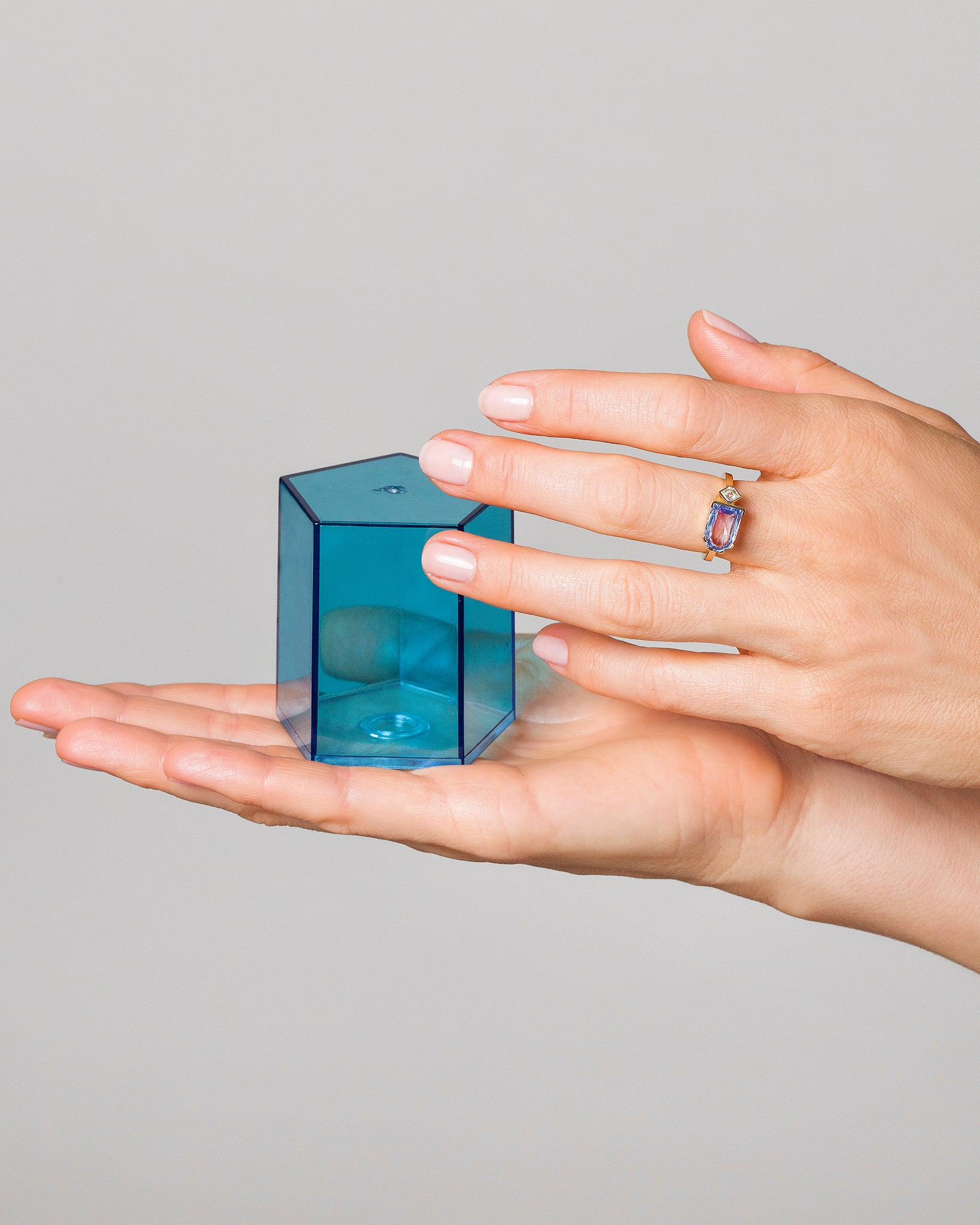 Archway Ring on model