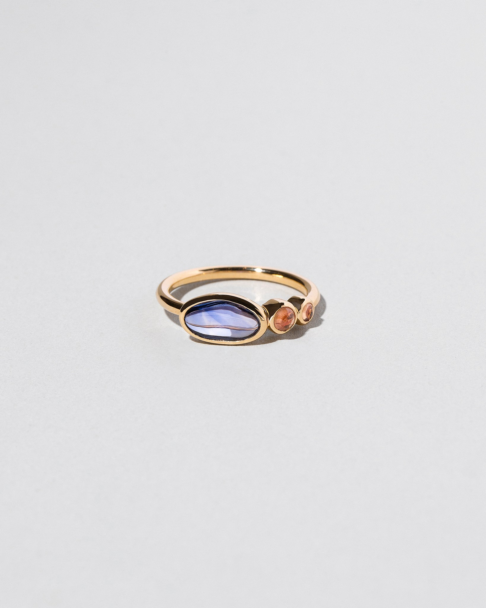 Gathered Sky Ring front view
