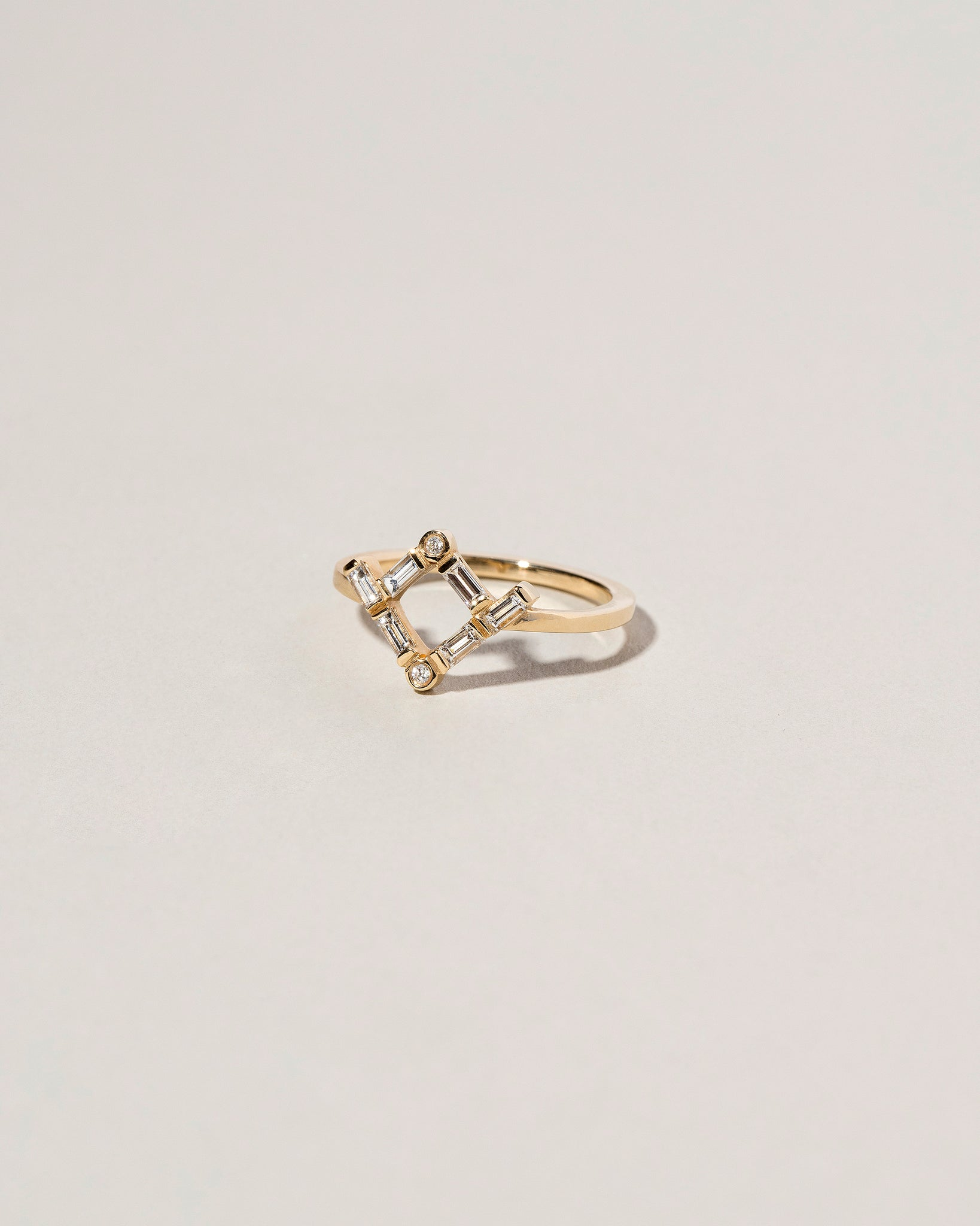 Deco Baguette Ring Right Side