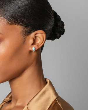 Divine Protection Earrings on Model