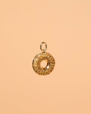 Lemon Donut Charm