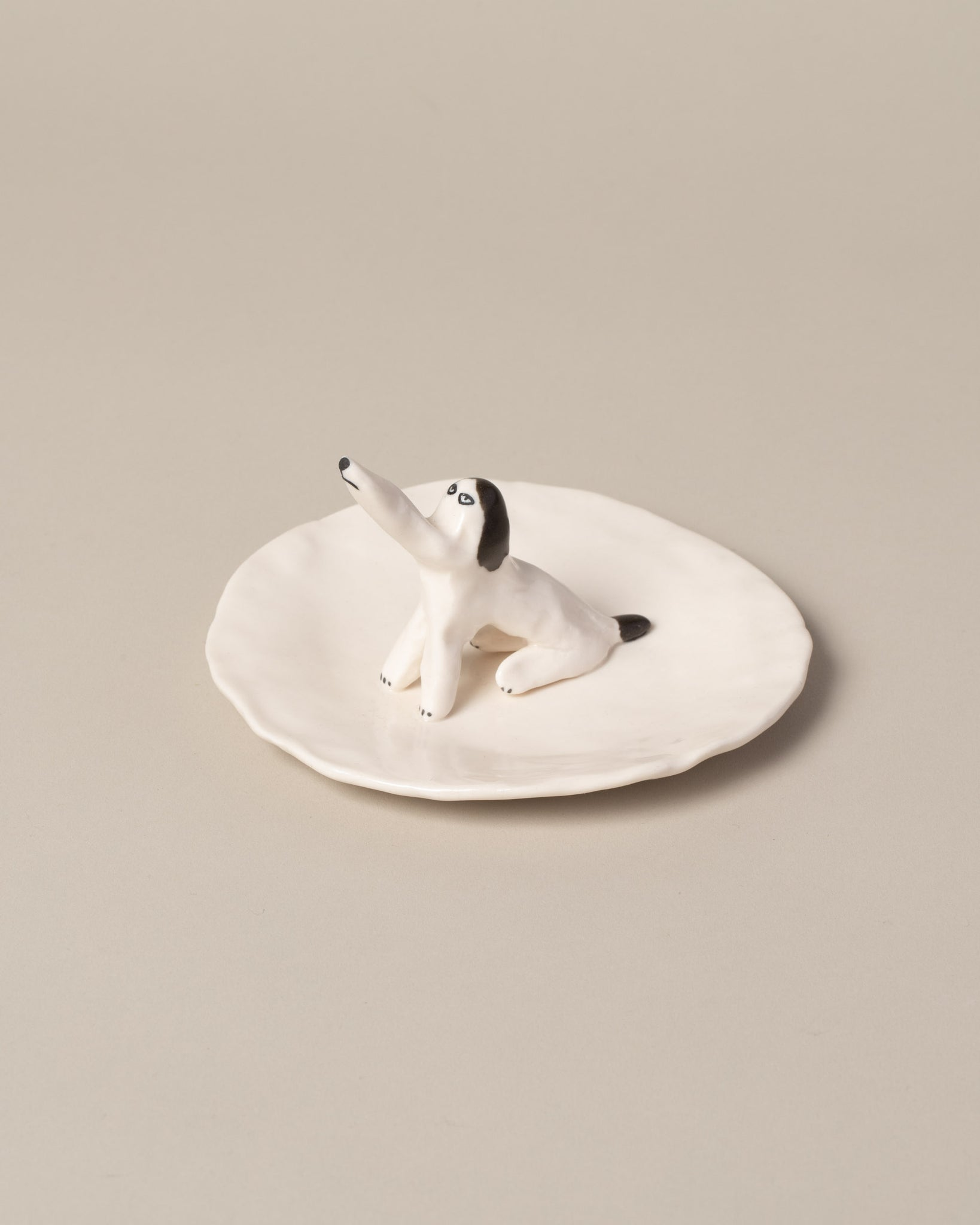 Eleonor Boström Dog Ring Dish on light color background