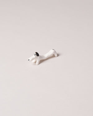 Chopstick Dog Rest Black