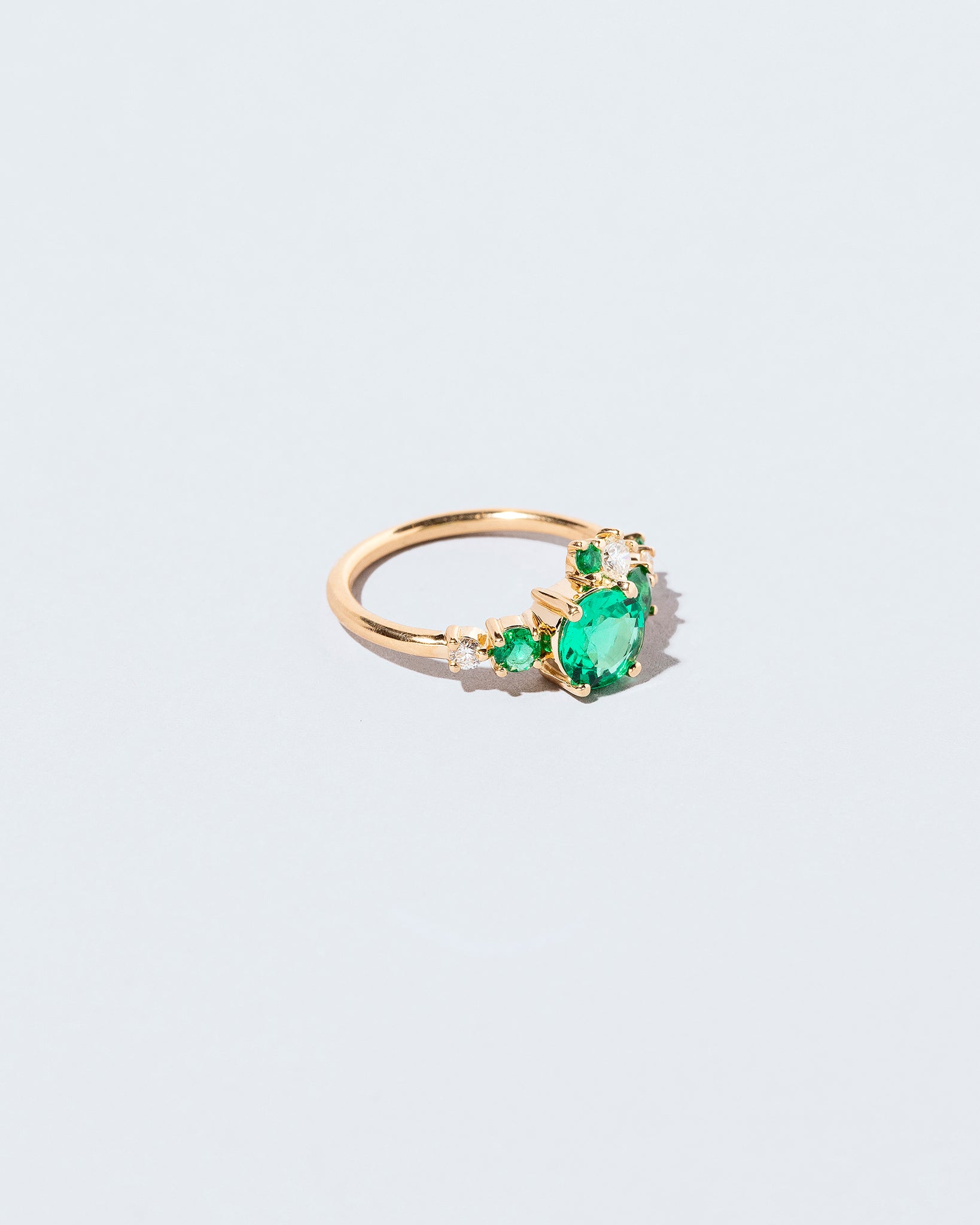 Luna Ring - Emerald