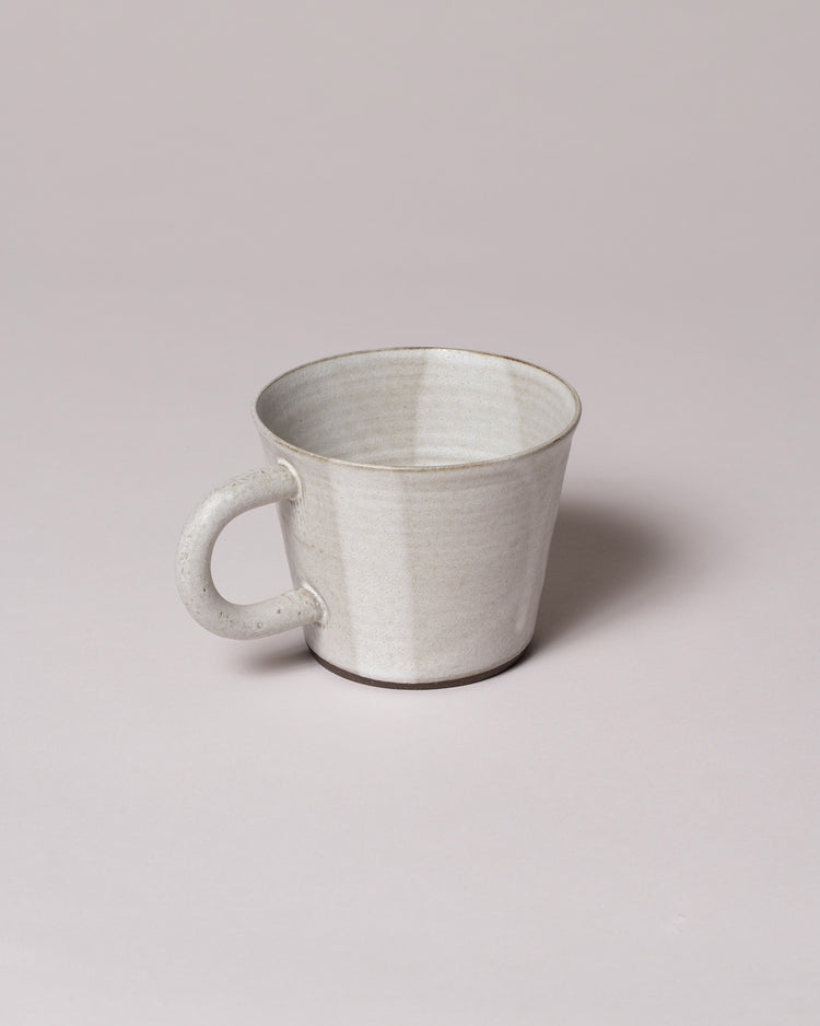Front view of Kam Mug in oatmeal