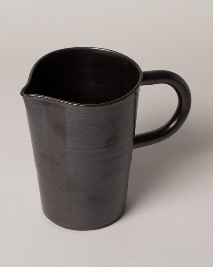 Kam Pitcher Full in Gunmetal Top View