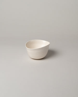 Sylvia Bowl #1/2 in Off-White