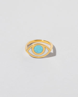 Eye Ring in Turquoise