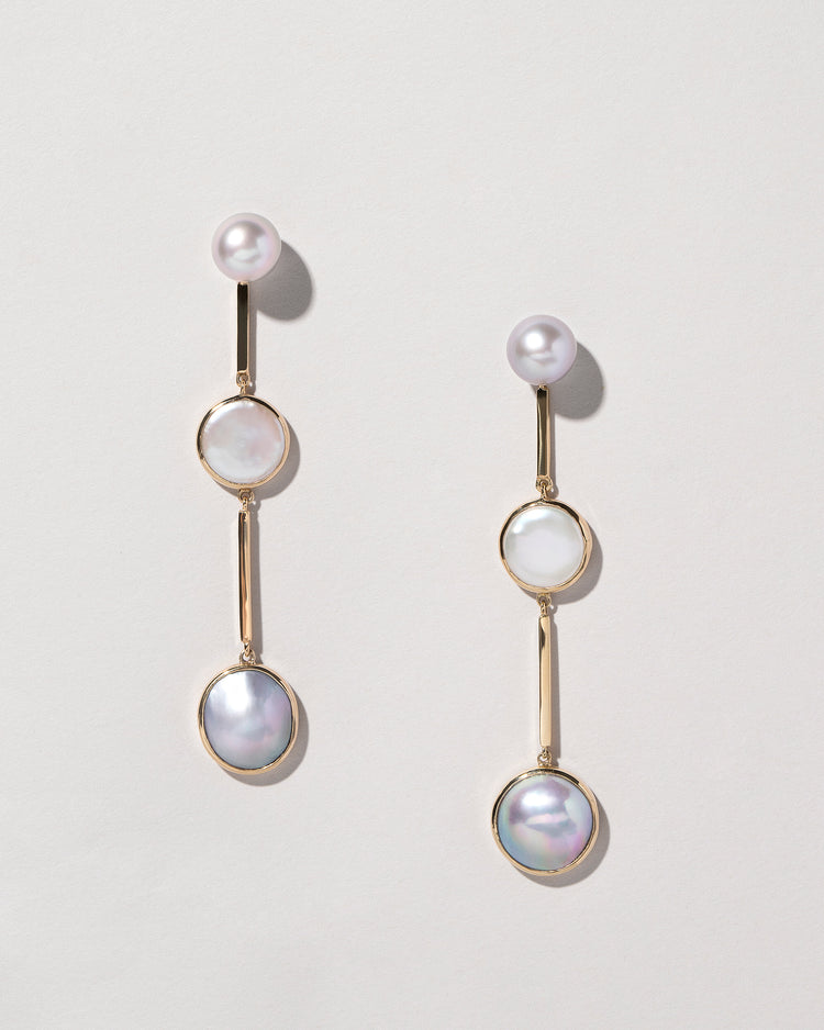 Figure 5. Drop Earrings Laid Flat