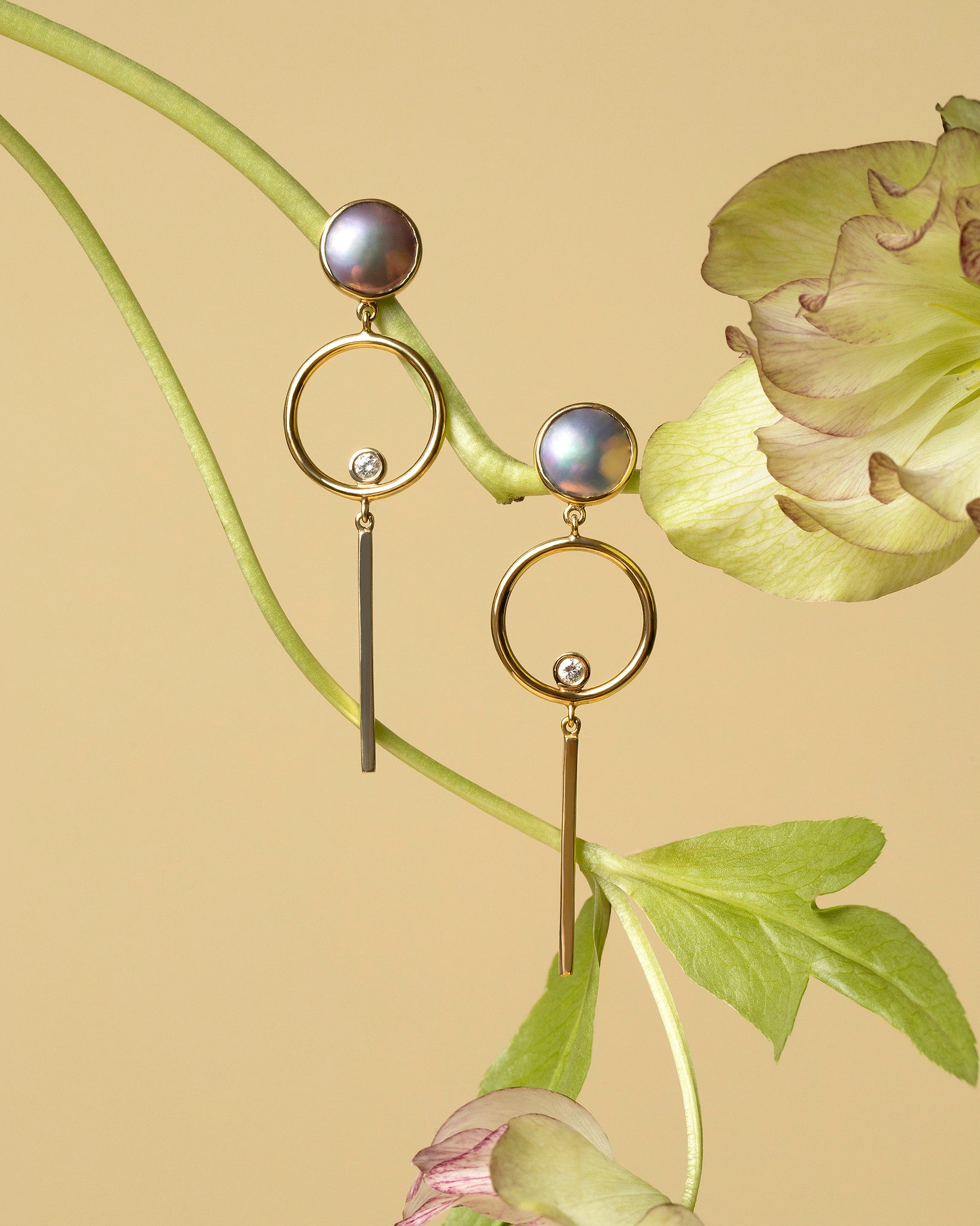 Figure 8. Drop Earrings Styled